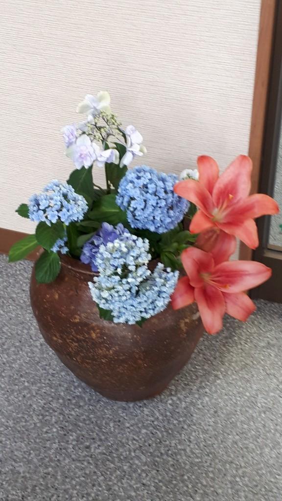 陽子さんお花